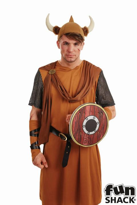 Viking Men's Fancy Dress Costume Thumbnail 2