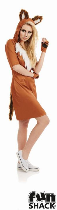 Urban Fox Women's Fancy Dress Costume Thumbnail 1