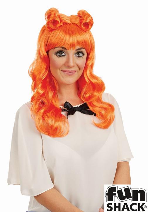 Cosplay Wig Orange Thumbnail 1