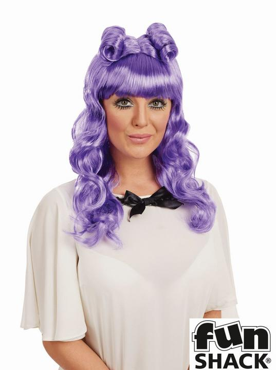 Cosplay Wig Purple Thumbnail 1