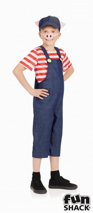 Little Pig Kid's Fancy Dress Costume Thumbnail 1