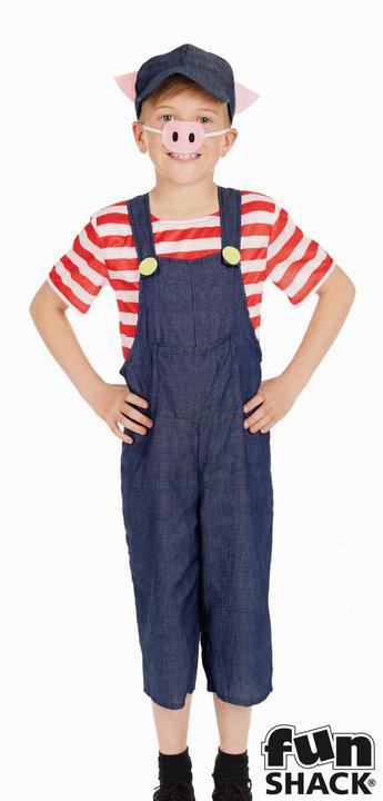 Little Pig Kid's Fancy Dress Costume Thumbnail 2