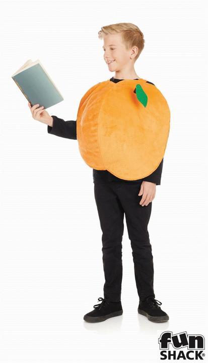 Girls Peach Costume Kids James Roald Dahl School Book Week Fancy Dress Thumbnail 2