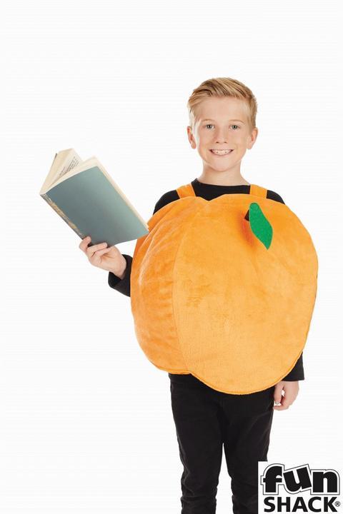 Girls Peach Costume Kids James Roald Dahl School Book Week Fancy Dress Thumbnail 3