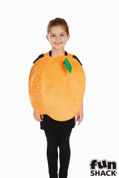 Girls Peach Costume Kids James Roald Dahl School Book Week Fancy Dress Thumbnail 4