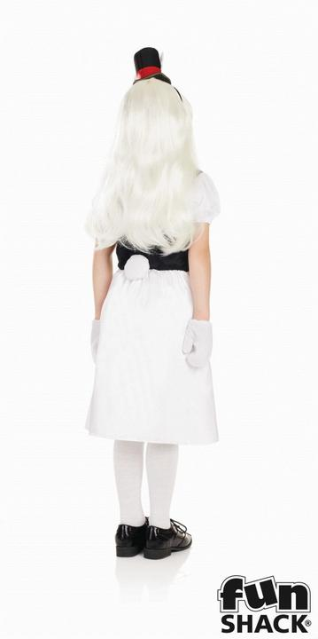 Girls Miss Rabbit Costume kids school book week alice wonderland fancy dress Thumbnail 2