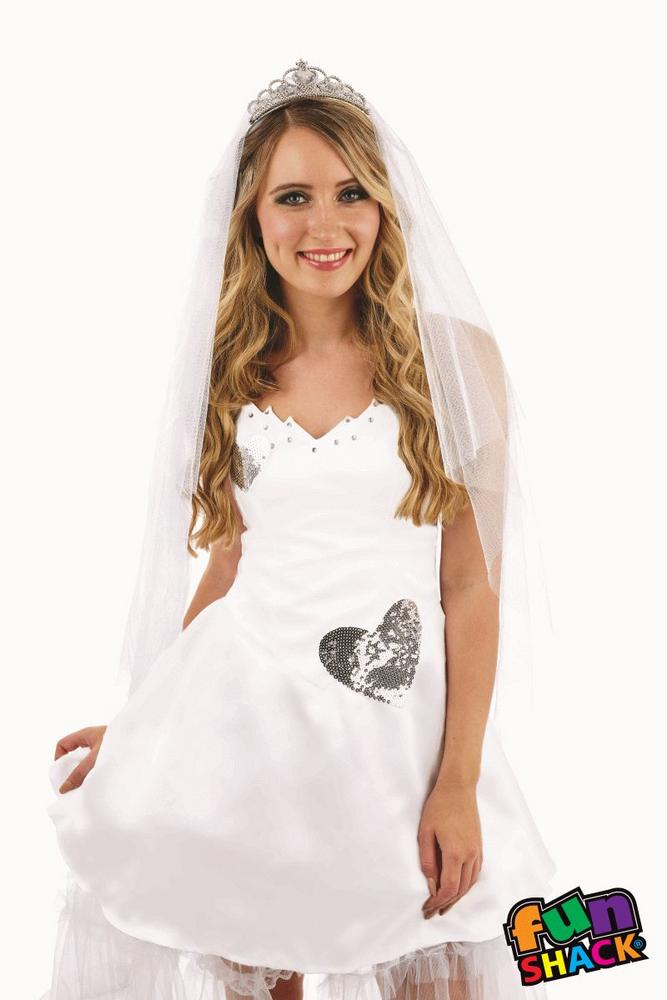Bride Women's Fancy Dress Costume