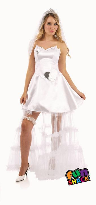 Bride Women's Fancy Dress Costume Thumbnail 2