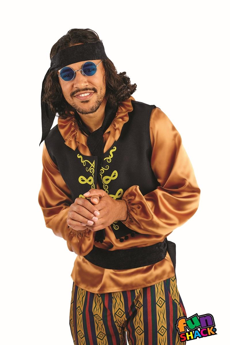 60'S Rock Star Men's Fancy Dress Costume
