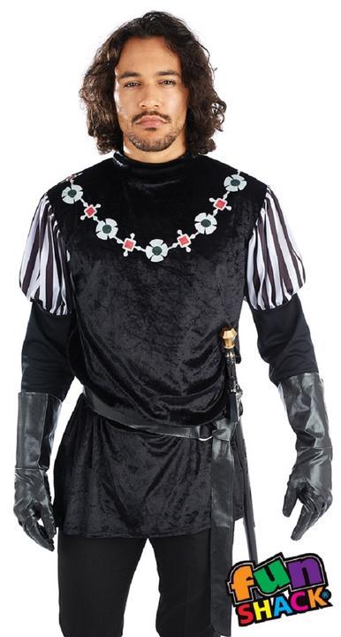 Sheriff Of Nottingham Men's Fancy Dress Costume Thumbnail 2