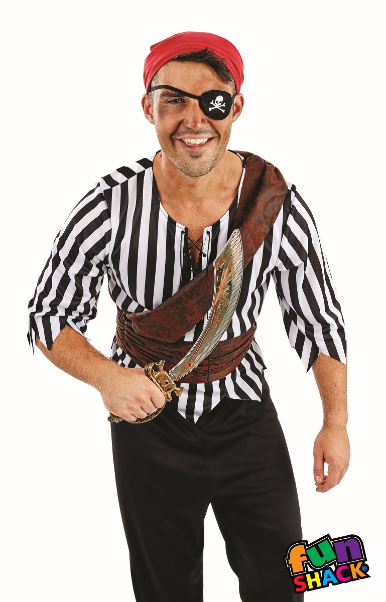 First Mate Men's Fancy Dress Costume