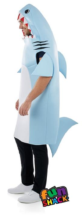 Shark Men's Fancy Dress Costume Thumbnail 2