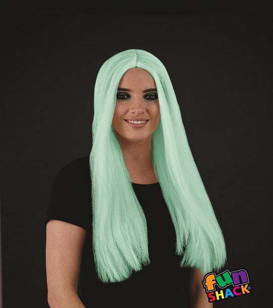 Long Glow In The Dark Wig Thumbnail 1