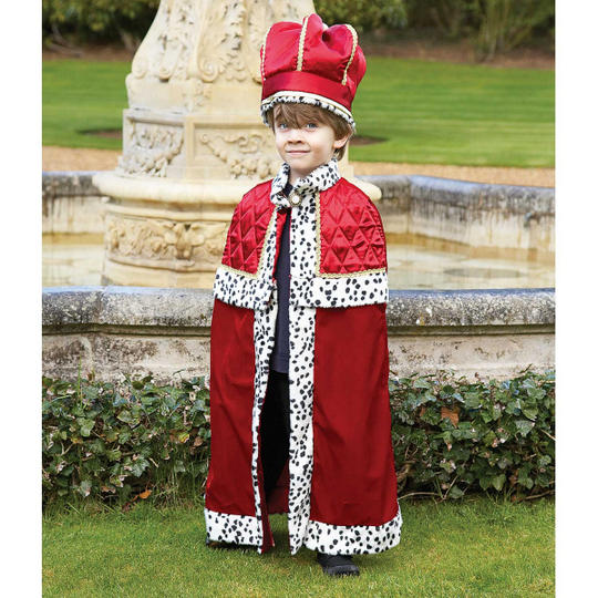 King Boy's Fancy Dress Costume Thumbnail 1