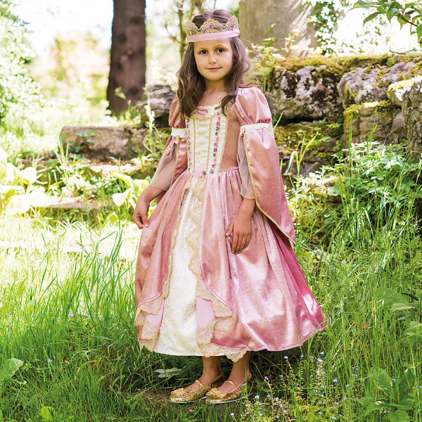 Royal Princess Girl's Fancy Dress Costume