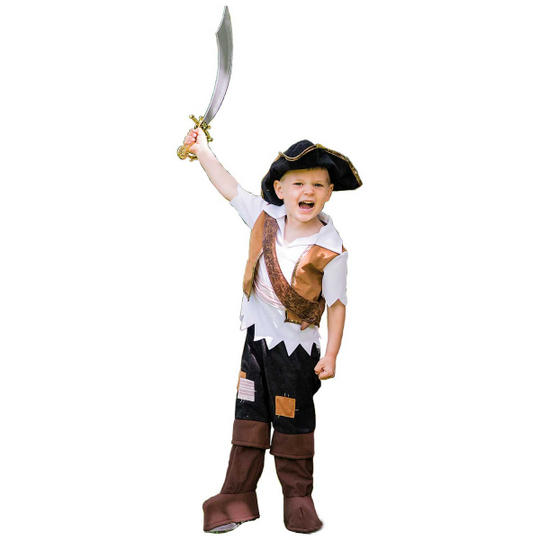 Pirate Pete Boy's Fancy Dress Costume Thumbnail 1