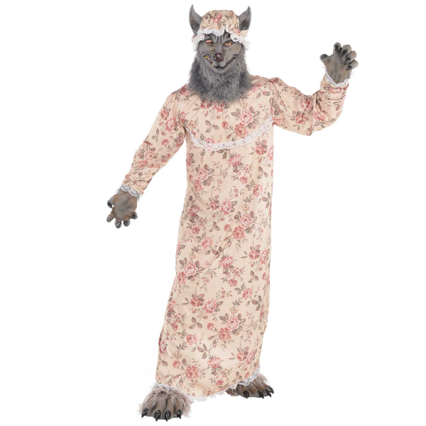 Grandma Wolf Fancy Dress Costume