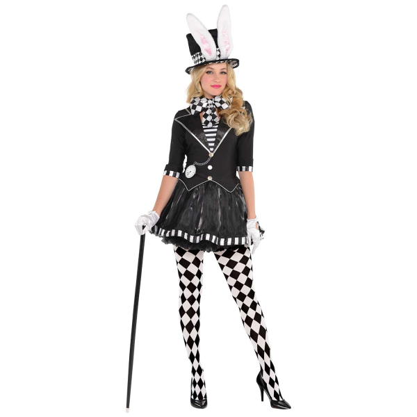 Dark Mad Hatter Women's Fancy Dress Costume