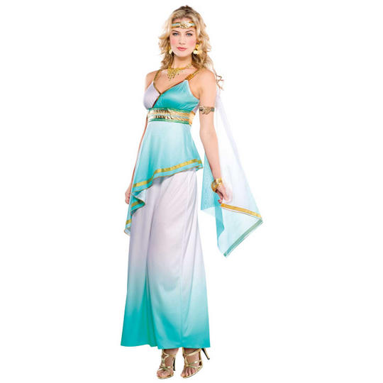 Grecian Goddess Women's Fancy Dress Costume Thumbnail 1