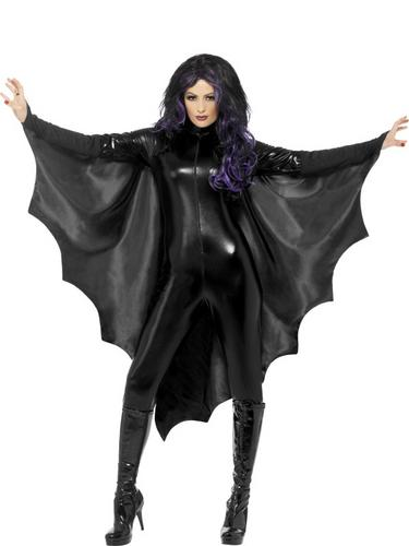 Adult Vampire Bat Wings Halloween Horror Fancy Dress Costume Party Accessory Thumbnail 1