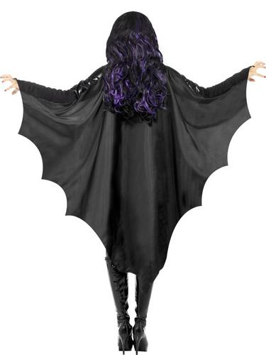 Adult Vampire Bat Wings Halloween Horror Fancy Dress Costume Party Accessory Thumbnail 2