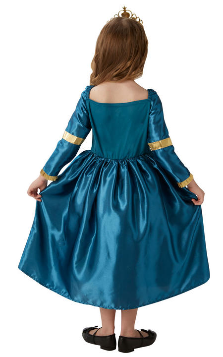 Storyteller Disney Merida Girl's Fancy Dress Costume Thumbnail 2