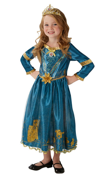 Storyteller Disney Merida Girl's Fancy Dress Costume Thumbnail 3