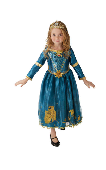 Storyteller Disney Merida Girl's Fancy Dress Costume Thumbnail 5