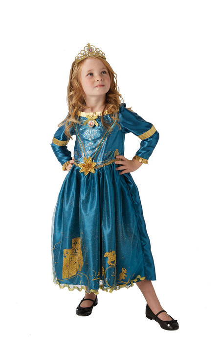 Storyteller Disney Merida Girl's Fancy Dress Costume Thumbnail 7