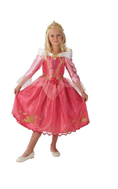 Storyteller Disney Princess Sleeping Beauty Girl's Fancy Dress Costume Thumbnail 4
