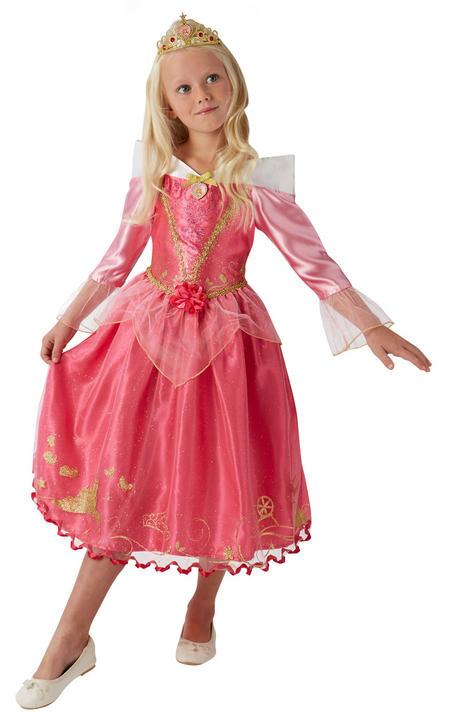 Storyteller Disney Princess Sleeping Beauty Girl's Fancy Dress Costume Thumbnail 8