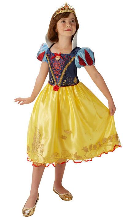Storyteller Disney Pincess Snow White Girl's Fancy Dress Costume Thumbnail 1