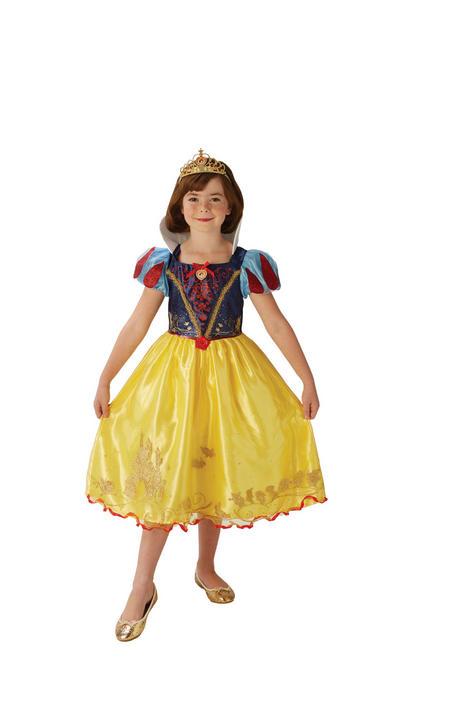 Storyteller Disney Pincess Snow White Girl's Fancy Dress Costume Thumbnail 4