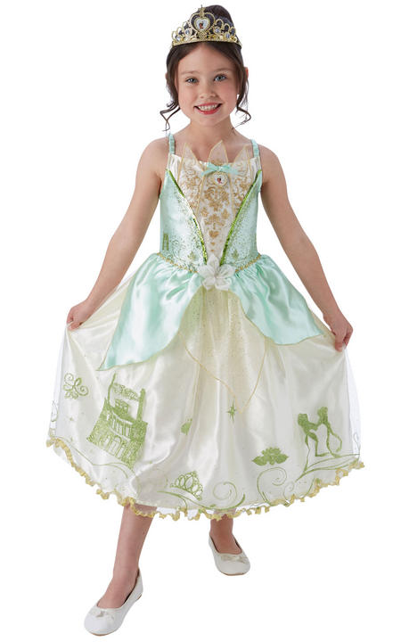 Disney Pincess Storyteller Tiana Girl's Fancy Dress Fancy Thumbnail 1