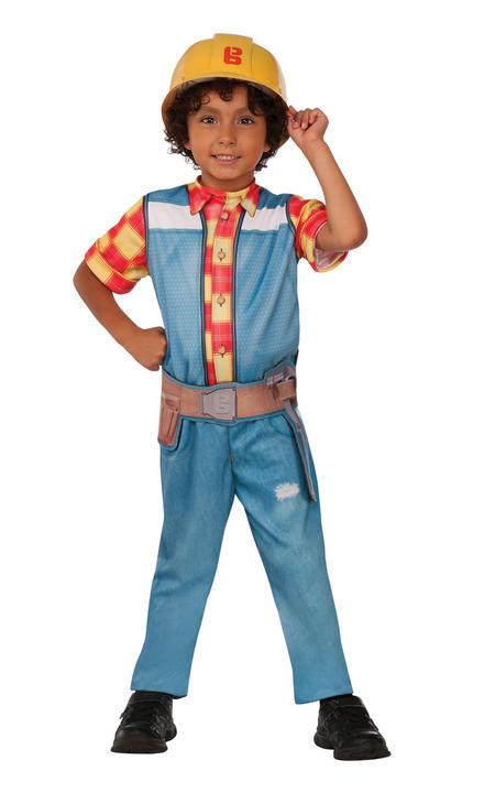 Bob The Builder Boy's Fancy Dress Costume Thumbnail 1