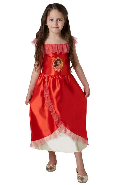Disney Classic Elena Of Avalor Girl's Fancy Dress Costume Thumbnail 1