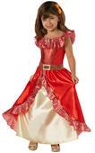 Disney Princess Deluxe Elena Of Avalor Girl's Fancy Dress Costume