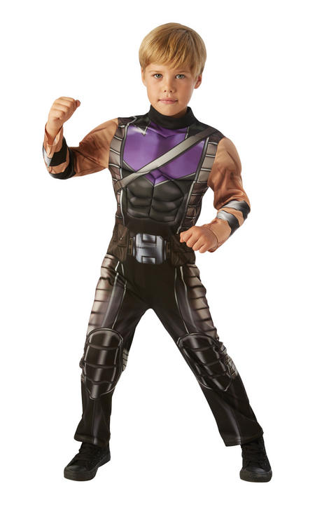 Hawkeye Marvel Avengers Boys Fancy Dress Costume Thumbnail 1