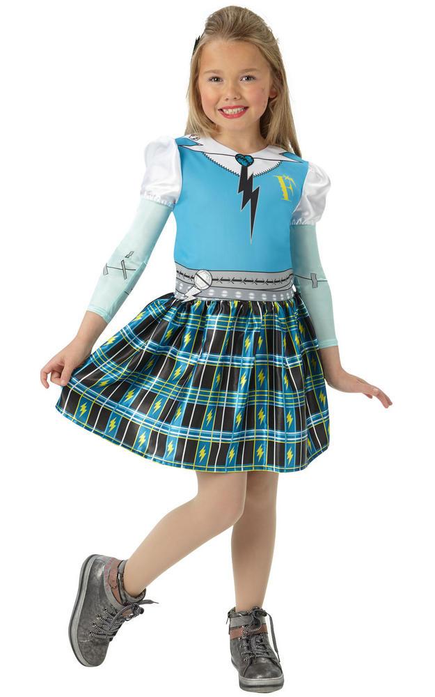Classic Frankie Stein Girl's Fancy Dress Costume