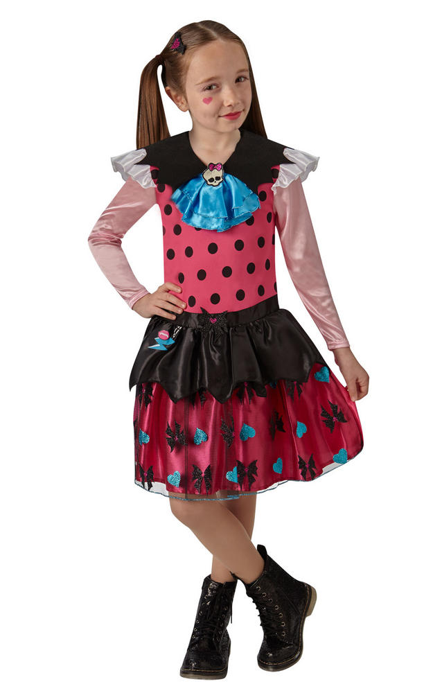 Classic Draculaura Girl's Fancy Dress Costume