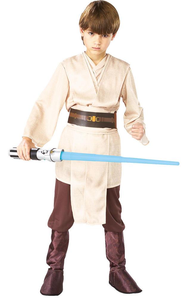 Jedi Boy's Deluxe Disney Star Wars Fancy Dress Costume