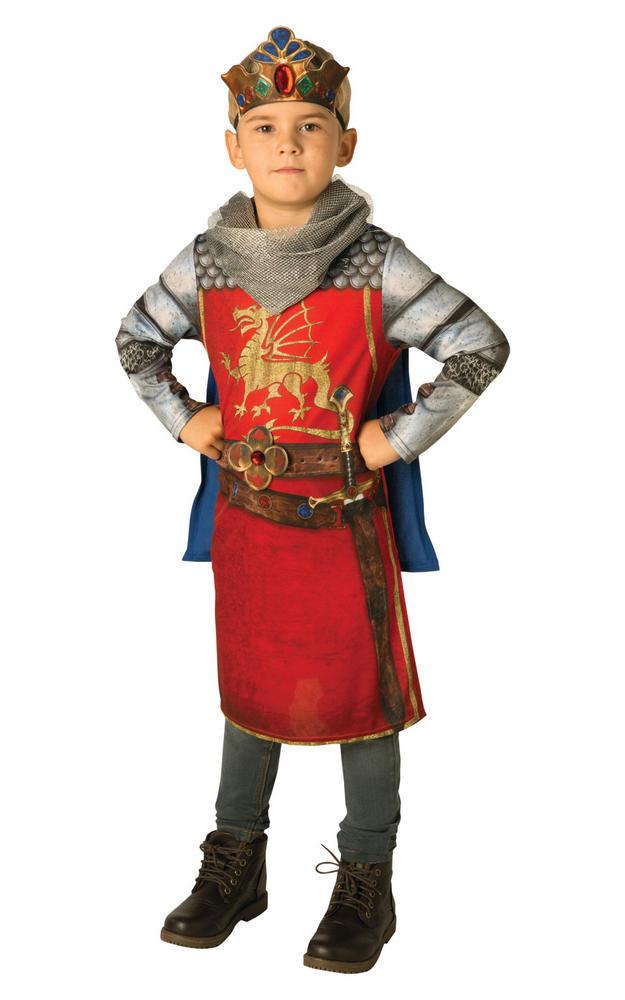 King Arthur Boy's Fancy Dress Costume