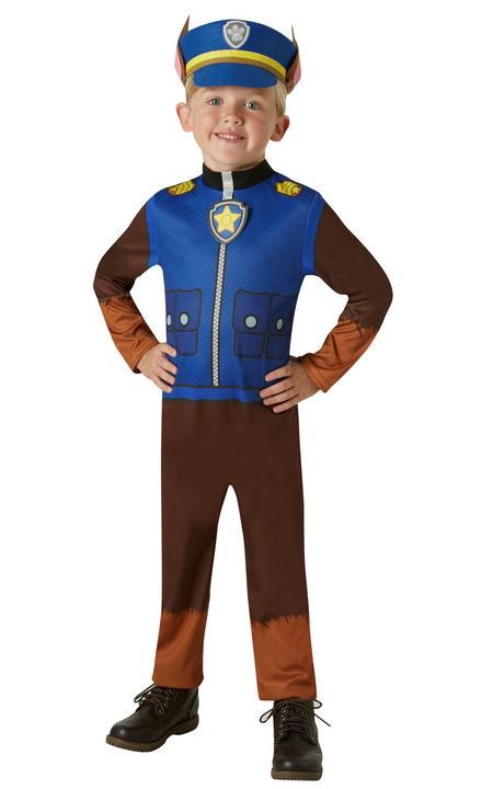 Chase Paw Patrol Boy's Fancy Dress Costume Thumbnail 1