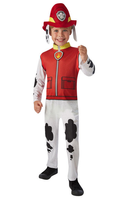 Marshall Paw Patrol Boy's Fancy Dress Costume Thumbnail 1