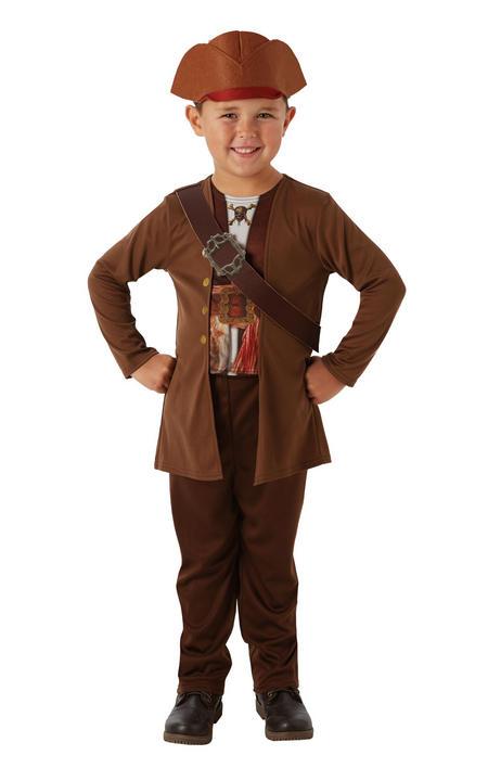 Jack Sparrow Boys Pirate Fancy Dress Costume Thumbnail 1