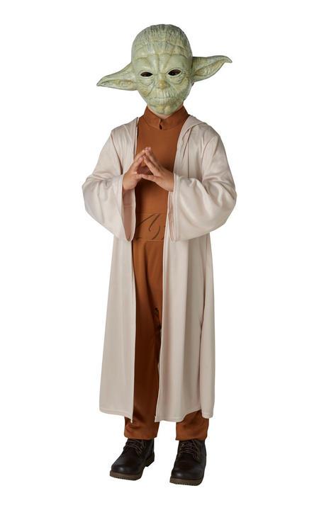 Yoda Disney Star Wars Boy's Fancy Dress Costume Thumbnail 1