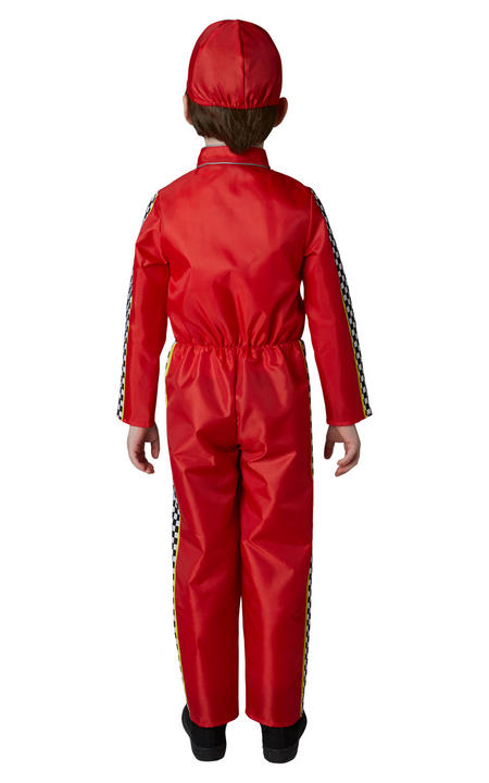 Racing Mcqueen Cars Boys Deluxe Fancy Dress Costume Thumbnail 3