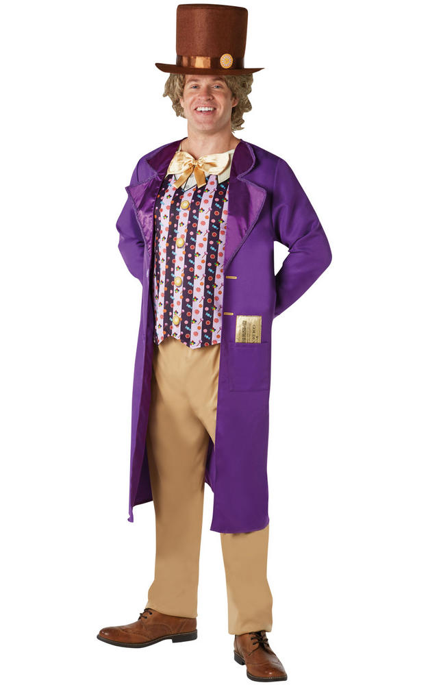 Willy Wonka Men's Fancy Dress Costume