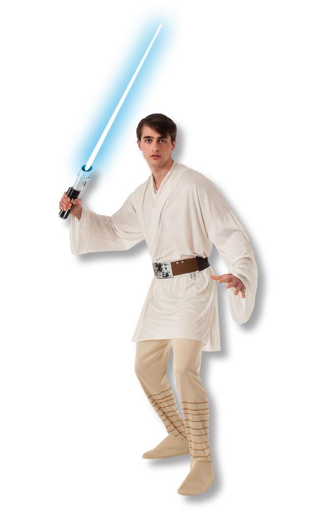 Luke Skywalker Disney Star Wars Men's Fancy Dress Costume