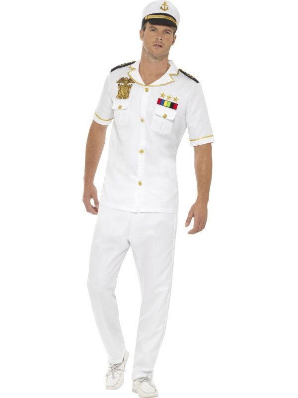 Captain Men's Fancy Dress Costume